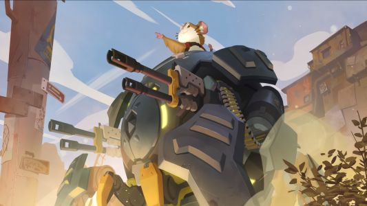 Overwatch's Wrecking Ball is now Dramatic Hammond