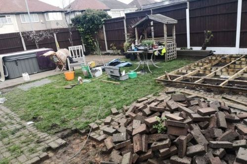 Mum chooses to 'live in the garden more than the house' after £10k upgrade