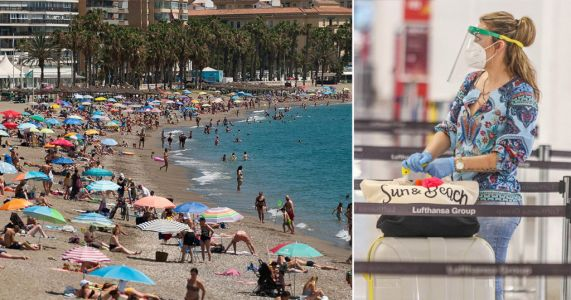 Spain closed 55 beaches and turned away tourists as too many flocked to coast