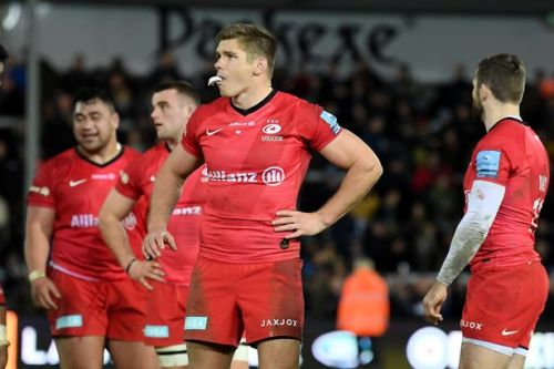 England get green light to select Saracens players as imminent relegation looms
