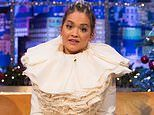 Rita Ora will no longer appear on the Jonathan Ross show this week