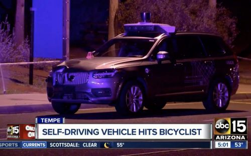 Uber safety driver was watching The Voice on her phone before self-driving car hit pedestrian