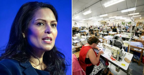 Priti Patel 'worried fear of looking racist' stopped police tackling sweat shops