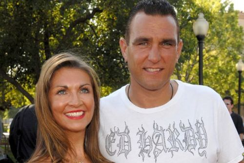 Vinnie Jones 'still cries every day' a year on from losing wife Tanya to cancer
