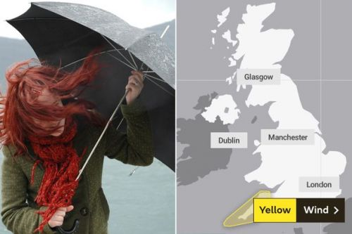 UK weather forecast: Heatwave will hit 31C - but 'severe' winds are coming