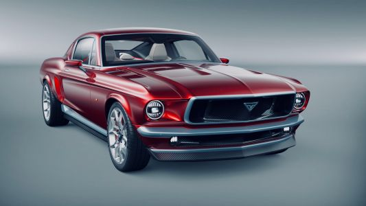 This Russian-made Mustang look-alike is really a Tesla Model S in disguise - take a closer look