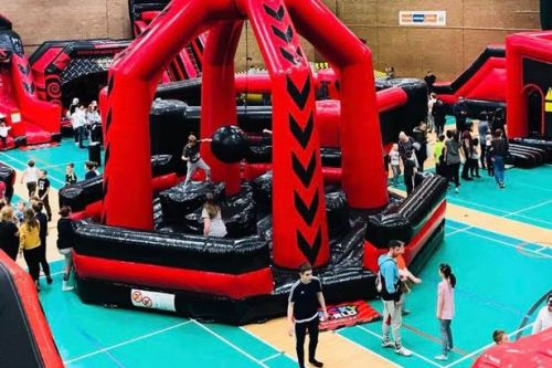 Wacky World inflatable arena with Total Wipeout-style assault course is coming to Scotland