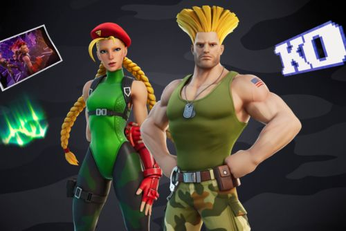Street Fighter comes to Fortnite