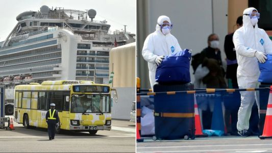 Brits from coronavirus quarantine ship will finally be evacuated tomorrow