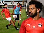 Mo Salah steps up preparations for AFCON after cutting short his summer break to link up with Egypt
