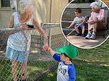 Two-year-old boy and his 99-year-old neighbor become 'best friends'