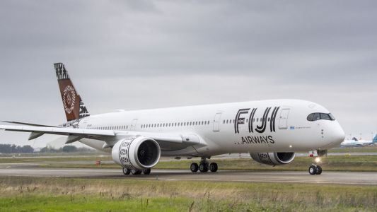 Fiji Airways takes delivery of its first A350 XWB aircraft