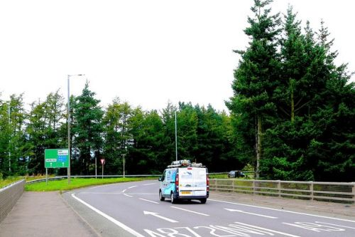 Drink and drugged-up driver smashed into roundabout after 'dancing' at the wheel