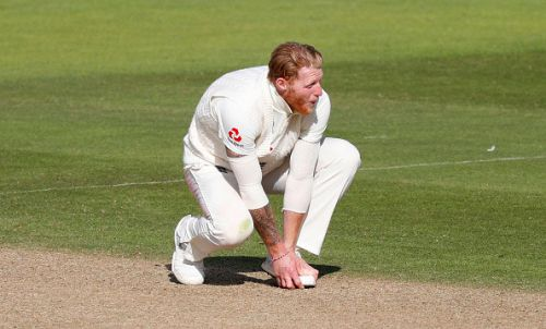 England bowler James Anderson allays Ben Stokes injury fears as West Indies take control of first Test