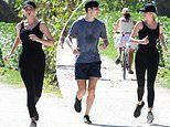 Ivanka Trump and Jared Kushner go jogging together in the Miami heat