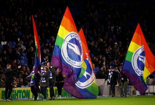 Two arrested on suspicion of homophobic abuse after Brighton vs Wolves match