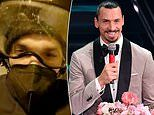Zlatan Ibrahimovic abandons his driver on the MOTORWAY and fan takes him to festival on a motorbike