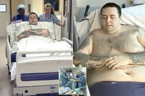 Morbidly obese man undergoes live-saving surgery after losing 10 stone