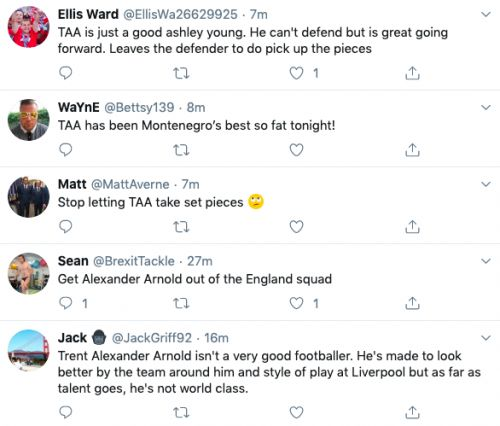 Many fans slam Liverpool star for Thurs display, one claims he 'shouldn't be anywhere near' team