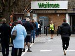 March was busiest shopping month for UK supermarkets on record up 20.6 per cent