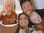 Stacey Solomon takes a break from social media to spend quality time with son Rex