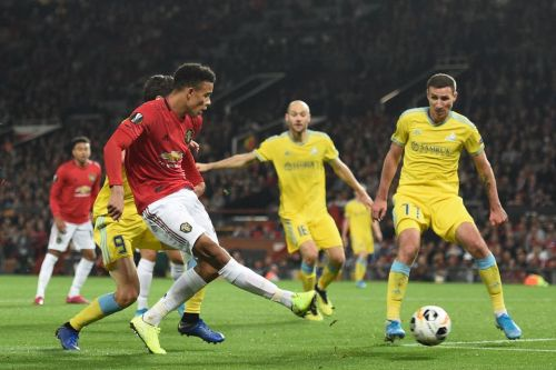 Man Utd 1 Astana 0: Mason Greenwood scores first senior goal in drab Europa League win