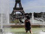 Paris braces for its hottest ever day with temperatures set to break seven-decade old record of 104F