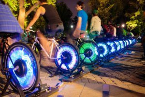 Gold medal olympians to electrify Manchester's Oxford Road for science festival