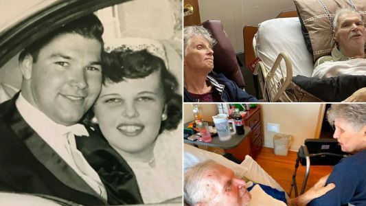 'Inseparable' couple dies on same day after nearly 65 years of marriage
