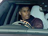 Man United stars look ready for business asthey arrive for training ahead of Liverpool showdown