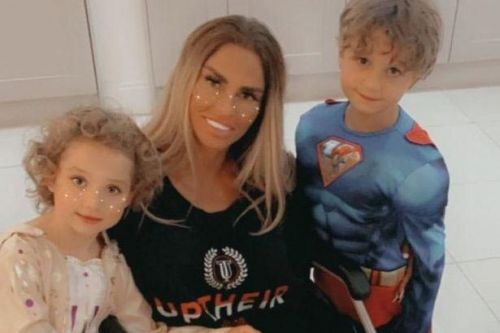 Katie Price 'accused of breaking the law on car journey with son on her lap'