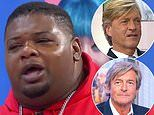Richard Madeley is lost for words as Big Narstie mistakes him for Nigel Havers