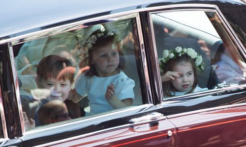 Princess Charlotte secretly took charge of other children at royal wedding
