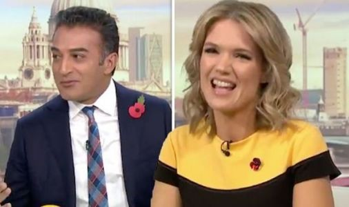 Charlotte Hawkins snaps at GMB's Adil Ray's awkward interruption 'Why are you laughing?'