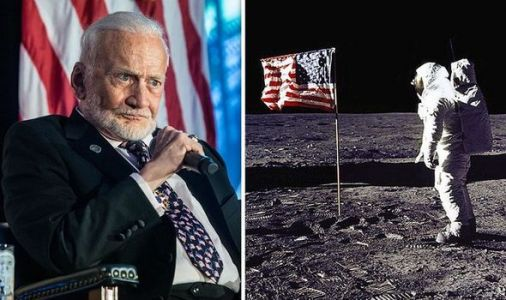 'In front of the TV camera!' Buzz Aldrin's Moon landing 'simulator' confession revealed
