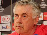 Carlo Ancelotti wants 'courage, intelligence and heart' from Napoli against Arsenal in Europa League