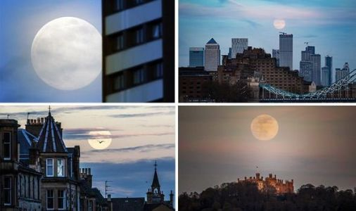 Supermoon in pictures: Biggest Full Moon of 2020 lifts spirits during coronavirus lockdown