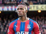 'He's strong enough: Wilfried Zaha backed by boss Roy Hodgson to lead fight against racism