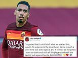 Chris Smalling admits he is 'gutted' to be leaving Roma as he prepares for  Manchester United return