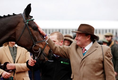 Altior left in both Ascot and Betfair Chase but Cyrname clash still the plan