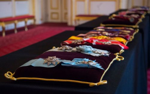 Insignia from Denmark and Greece to lie on altar at Prince Philip's funeral