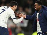 Tottenham pair Son Heung-min and Steven Bergwijn return to their home countries