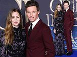 Fantastic Beasts: The Crimes of Grindelwald: Eddie Redmayne and wife attend London premiere