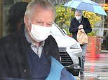 Jon Voight, 81, wears a protective face mask as he goes food shopping in rainy Los Angeles