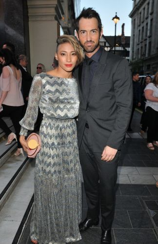 Karen Clifton enjoys date night with David Webb as she 'considers ditching Kevin's surname'