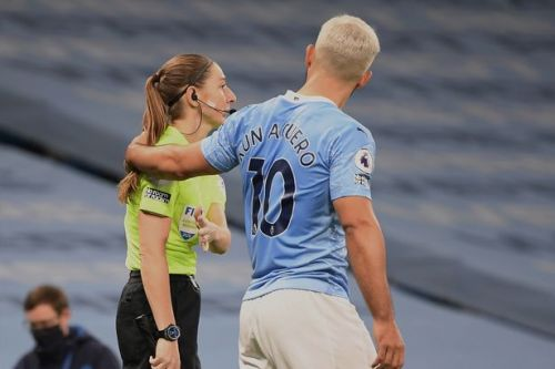 Guardiola doubles down in defence of Aguero over Sian Massey-Ellis incident