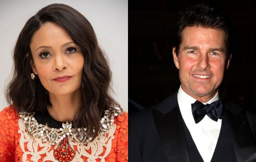 "Thandie Newton on Tom Cruise on 'Mission Impossible 2' set: ""I was so scared"""