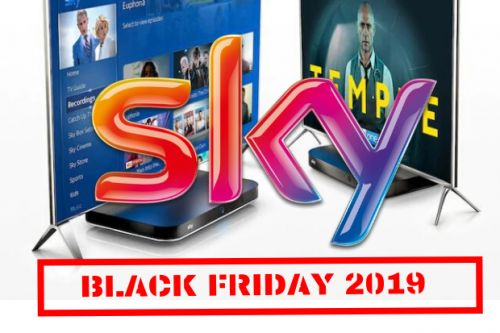 Sky Black Friday deals - Save 50% on Sky TV packages