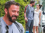 Ben Affleck, 47, looks suddenly younger with a darker beard with Ana, 32