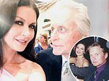 Michael Douglas and wife Catherine Zeta-Jones send each other well-wishes on shared birthday